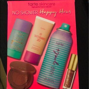 New tarte skin care no shower happy hour kit